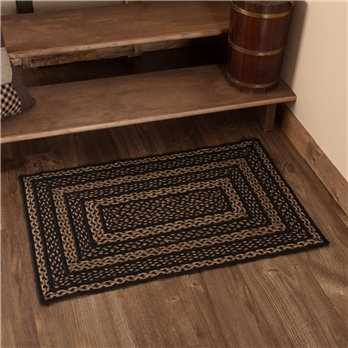 Farmhouse Jute Rug Rectangular 24x36