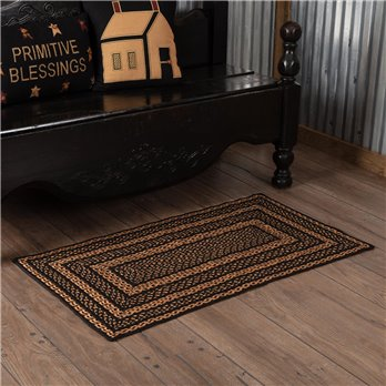 Farmhouse Jute Rug Rectangular 27x48