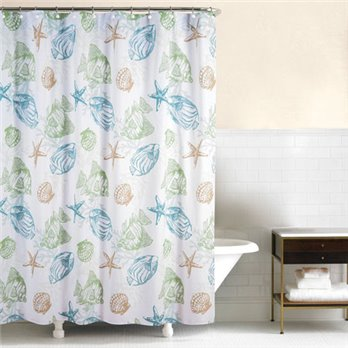 Reef Point Shower Curtain