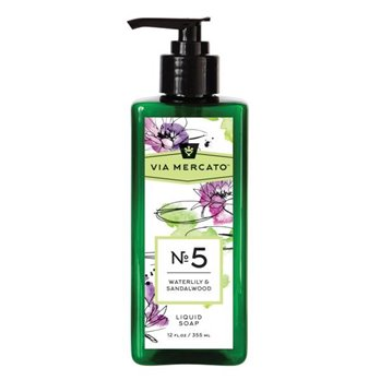 Via Mercanto No. 1 Bergamot, Patchouli & Rosewood Liquid Soap