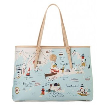 Spartina 449 Northeastern Harbors Tote
