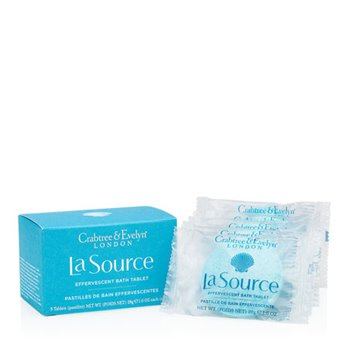 Crabtree & Evelyn La Source Bath Tablet Set of 5 (5 tablets, each 28g, 1 oz.)