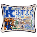 University of Kentucky Embroidered Pillow