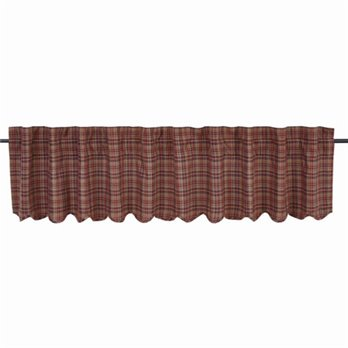 Parker Scalloped Valance Lined 16x90