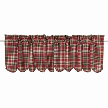 Graham Scalloped Valance Lined 16x60