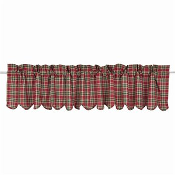 Graham Scalloped Valance Lined 16x90