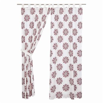 Mariposa Fuchsia Panel Set of 2 84x40