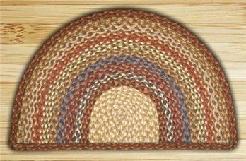 "Honey, Vanilla & Ginger Large Rug Slice 24""x39"""