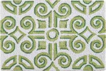 Boxwood Abbey Hooked Rug