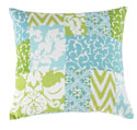 tranquil Patchwork Pillow