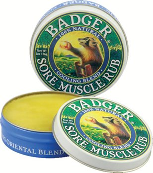 Badger Cooling Blend Sore Muscle Rub (2 oz. tin)
