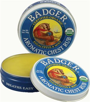 Badger Aromatic Chest Rub (2 oz tin) formerly Winter Wonder Balm
