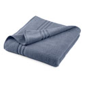 Under The Canopy Unity Certified Organic Cotton Blue Bath Sheet
