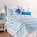 Island Bay Full Queen 3 Piece Quilt Set