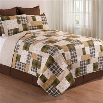 Kingsley Full Queen 3 Piece Quilt Set