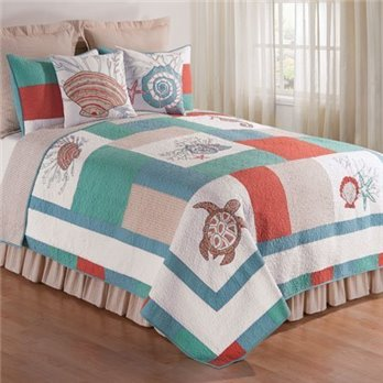 Folly Beach Full Queen Quilt