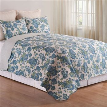 Laurel Full Queen 3 Piece Quilt Set