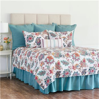 Aurora Full Queen 3 Piece Quilt Set