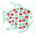 Tufted Fish Pillow