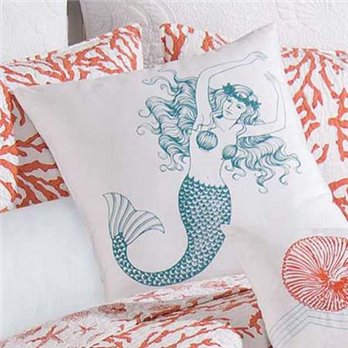 Cora Mermaid Pillow