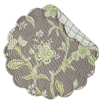 Annabelle Round Quilted Placemat