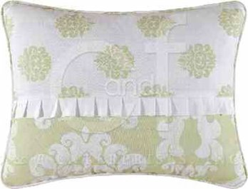 Providence Cucumber Embroidered Pillow