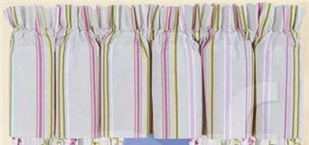 Liliann Stripe Valance