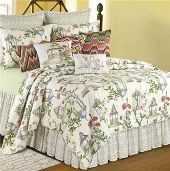 Garden Folly Full Queen Quilt