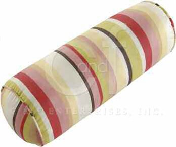 Alessandra Stripes Neckroll Pillow