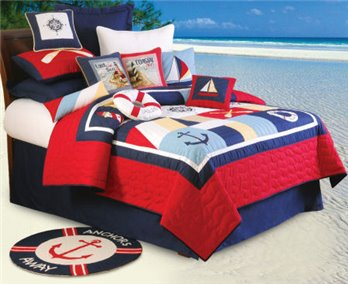 Sail Away Twin Quilt