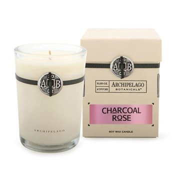 Archipelago Charcoal Rose Soy Boxed Candle