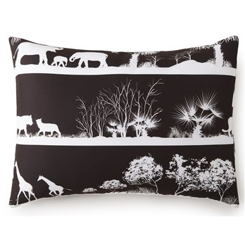 African Safari Pillow Sham King