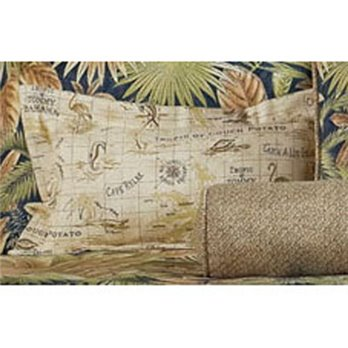 Bahamian Nights Rectangular Accent Pillow