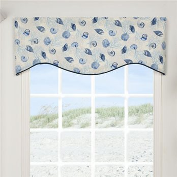 Barbados Shaped Valance
