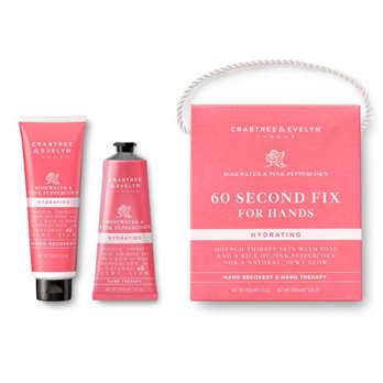 Crabtree & Evelyn Rosewater & Pink Peppercorn 60-Second Fix for Hands