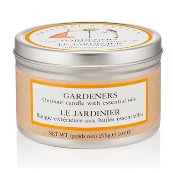 Crabtree & Evelyn Gardeners Outdoor Candle with Essential Oils