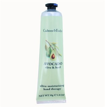 Crabtree & Evelyn Avocado Hand Therapy Purse Size (1.8 oz, 50g)