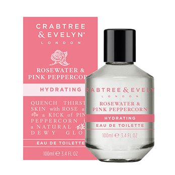 Crabtree & Evelyn Rosewater & Pink Peppercorn Eau de Toilette