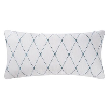 Barbados Sea Aqua Diamond Pillow