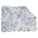 Clementina Dusk Rectangular Quilted Placemat