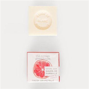 Marseille Grapefruit Soap by The Cottage Greenhouse by Margot Elena