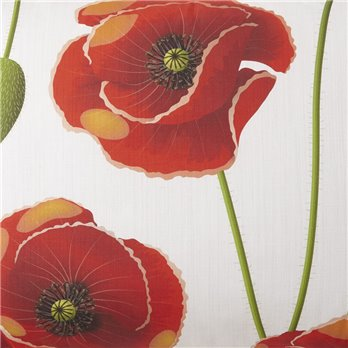 Poppy Plaid Poppy Main Print Fabric Per Yard