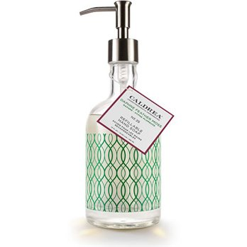 Caldrea Daphne Feather Moss Glass Refillable Hand Soap