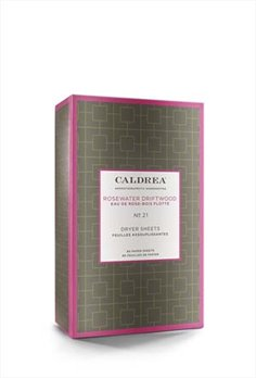 Caldrea Rosewater Driftwood Dryer Sheets