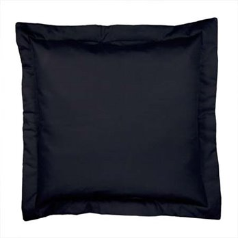 Yvette Eclipse Black Euro Sham