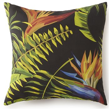 "Flower Of Paradise Square Cushion 18""x18"""