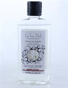 La Tee Da Fuel Fragrance White on White (16 oz.)