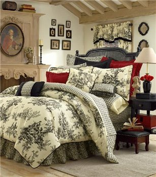 "Bouvier King Thomasville Comforter Set (15"" bedskirt)"