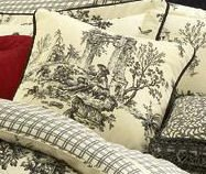 Bouvier Toile 18 inch Square Pillow