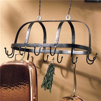 Hanging Pot Rack 25""